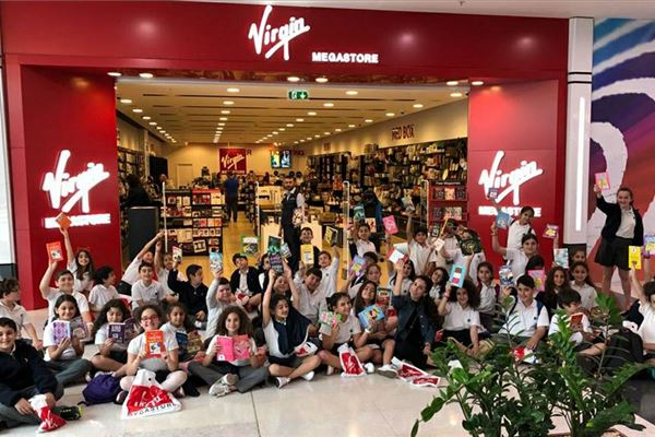 Grades 4 and 5 Trip to Virgin Megastore