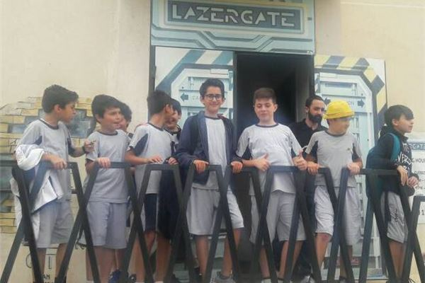 Grade 5 Trip to Lazergate!